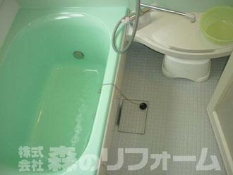 柏市 水まわり浴室リフォーム後 在来からUBへ