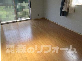 松戸市 2階洋室リフォーム カーペットからフローリングへ