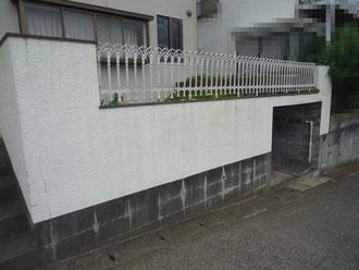松戸市 外壁塗装リフォーム 門ペイ塗装リフォーム前