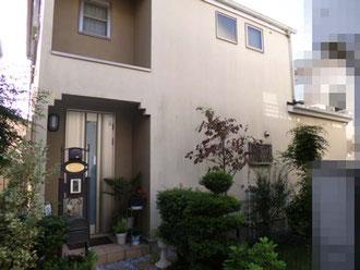 松戸市 外壁塗装、タイル張リフォーム前