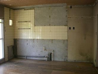 キッチン撤去後