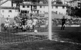 5°: gol vittoria realizzato da Giordano