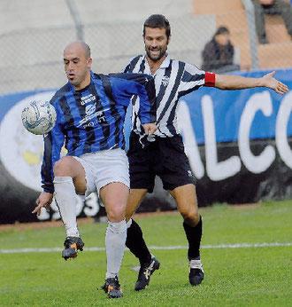 Mazzei controlla palla