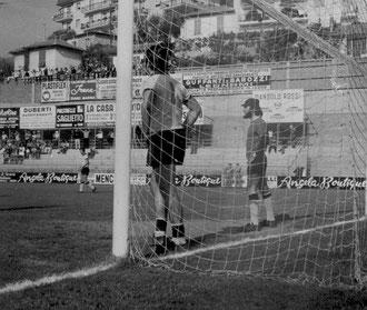 5': sconforto di Gualco dopo il gol vittoria realizzato da Cogliandro