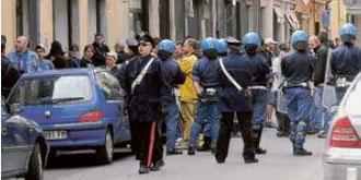 Il pacifico corteo di protesta dei tifosi nerazzurri