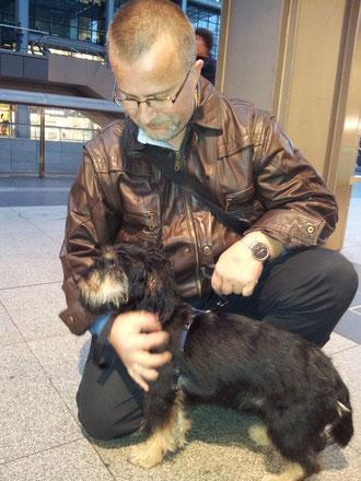 Unser Fritzi ist jetzt ein Schwede :-)                                                               in Kooperation mit Time for Animals