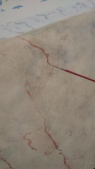 Imitación mármol. Pintors Barcelona