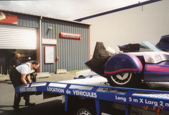Benzinpumpenschaden in Rennes 2002