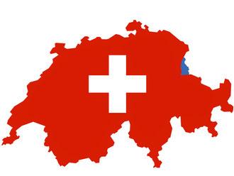 Die Lieferung Schweiz und Fürstentum Liechtenstein erfolgt über die Schweizer Post.
