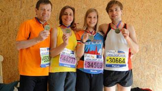 So sehen glückliche Läufer aus!