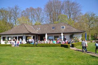TTC Gütersloh - Terrasse der  Anlage am Stadtpark