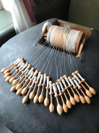 糸を紡ぐように、時間を紡ぐ