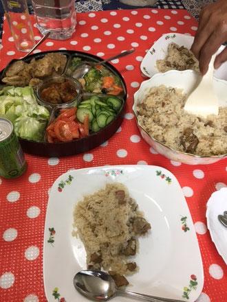 インディカ米とマトンが絶品のビリヤニという主食