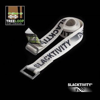 Slacktivity(スラックティビティ)の調節可能なツリースリング。2.4mと5mの2タイプ。