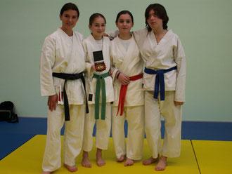 Les lauréates. Saison 2008-2009