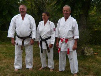 Marc Lambert, Françoise Costes et J.Michel Guedjali. Saison 2008-2009