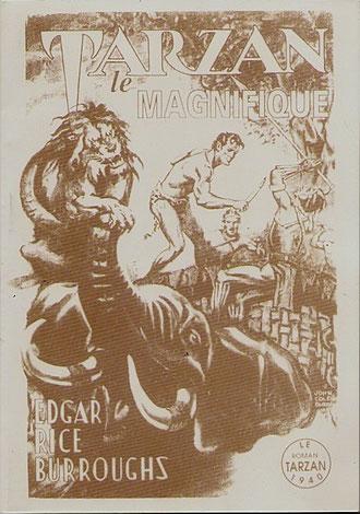 Troisième tirage de 5 exemplaires, tirage total de 85. Et c'est bien vrai qu'il l'est ! En plus de la couverture 5 illustrations dans le texte de John Coleman Burroughs.