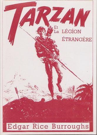 2 ème tirage de 5 exemplaires, Le tirage total étant donc de 80. A priori un des meilleur Tarzan, un des plus complexe. En plus de la couverture 5 illustrations dans le texte de John Colleman Burroughs.
