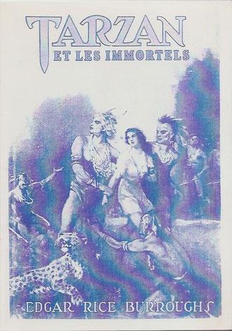 Tirage de 75 exemplaires. Hors la couverture, 5 illustrations de Allen St John dans le livre, en pleine page.