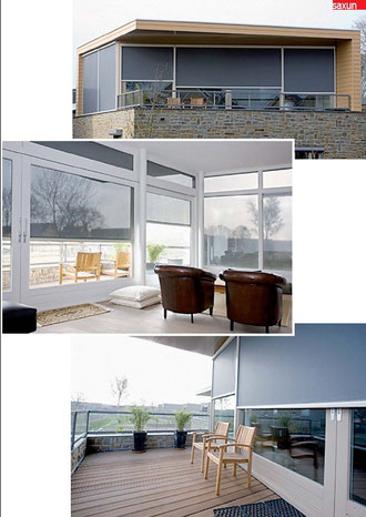 Cortinas stor exterior Wind Screen