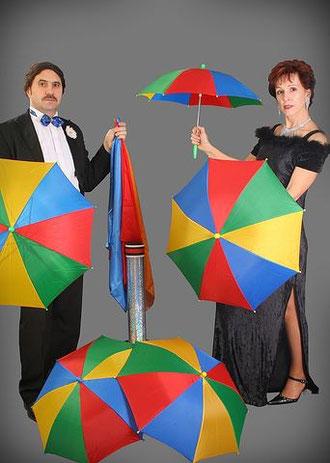 """""""Erscheinende Regenschirme"""""""