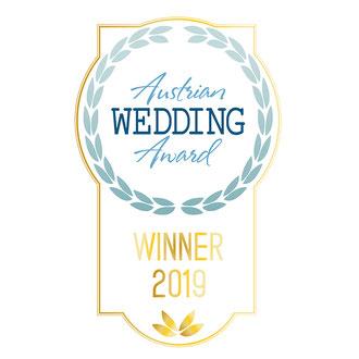 Hat over Heels als Gewinner des Austrian Wedding Award 2017 und 2019 in der Rubrik beste Liveband
