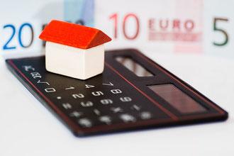 Calcul, investissement, maison, prêt immobilier