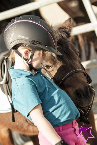 Casco Reithelm Mistrall, Kinderreitunterricht, Kleine Reiter ganz groß
