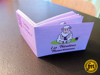 carte de membre association, création carte de membre, carte de membre personnalisée, carte-membre sur mesure, carte membre association les tricotines thouarénnes, les tricotines thouaréennes, tricot thouaré sur loire, crochet thouaré sur loire