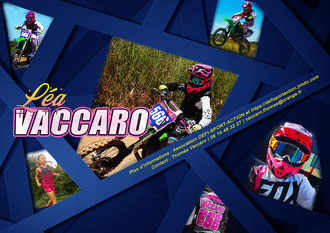 Press book motocross Lea Vaccaro, pressbook lea vaccaro