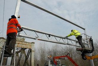 Installazione barriere antiTIR