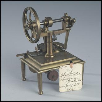 1852 Charles Miller's Patent Model