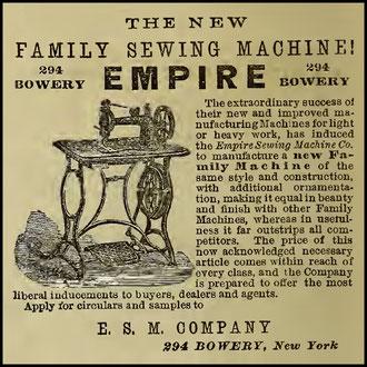 1868 - 294 Bowery N.Y.