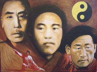 Chen, Xiaowang, Fake, Zhoaxu, linaje, maestros
