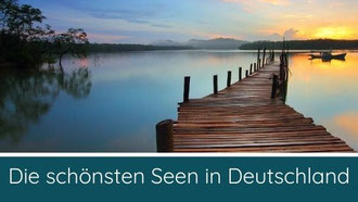 schönste Seen Deutschland