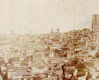 Detalle Vista Panorámica de Charles Clifford hacia 1857