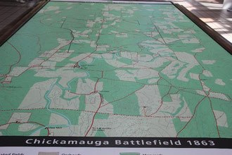 Foto Karte im Infocenter