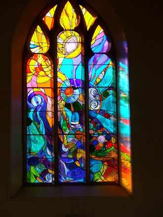 Wycliffe west window
