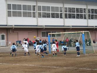 vs横浜GSFC 見事なヘディングシュート・・・決勝点となりました
