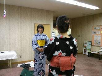 あゆみキモノ学院 浴衣講座