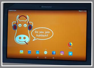 kuhlisch Wallpaper für Dein Tablet