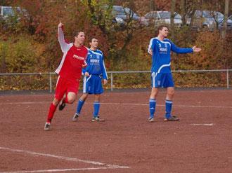 Bastian Stridde Torschütze zum 2:0