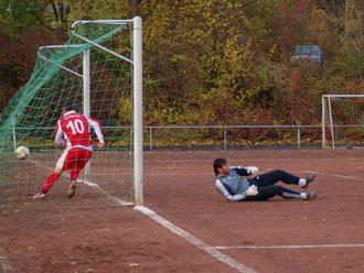 Murat Akbiyik Torschütze zum 1:0