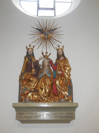 Marias Krönung in der St. Emmeramskirche, Spalt