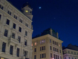 On Garben- One of the Vienna's busiest shopping area