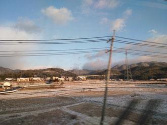 新幹線車窓より