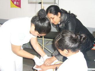 Evaluacion mensual de practicas hospitalarias