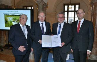 Die Bayerische Elektrizitätswerke GmbH erhält den Umweltpreis 2018