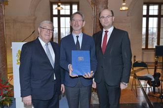 Josef E. Köpplinger, vertreten durch Gunnar Klattenhoff, erhält den Kulturpreis 2018