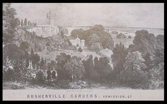 Rosherville Gardens had a luxury look in their mid-Victorian heyday.